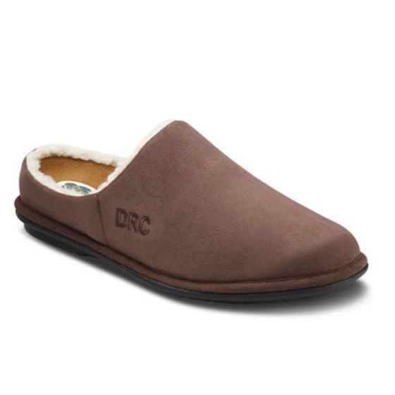 0f2d90af05fce Soft men s slippers with an open heel for warmth and comfort. Read More.  Easy Chocolate