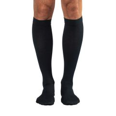 Essentials, Cotton Casual Compression Socks, Men's Below Knee