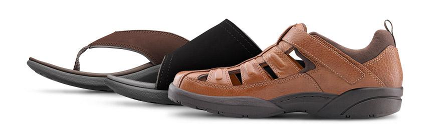 Sandals - Mens Shoes   Dr. Comfort