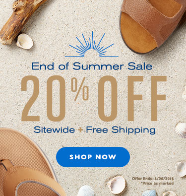 End of Summer Sale - 20% Off