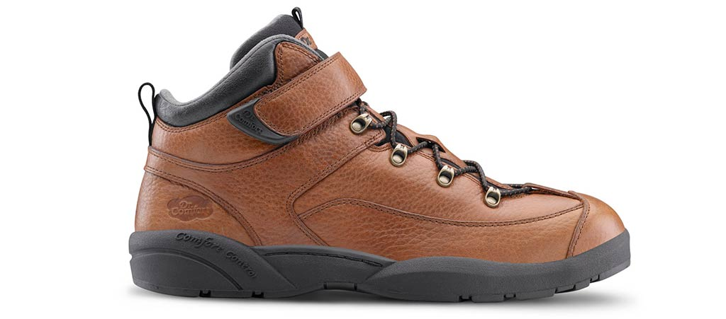 Dr. Comfort Men's Ranger Work Boots - Diabetic Hiking Boots | Dr. Comfort